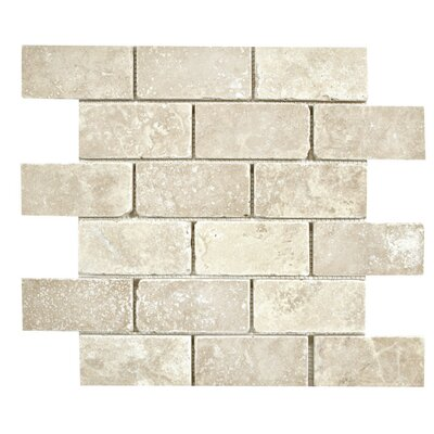 2 x 4 Mosaic Tile in Ivory