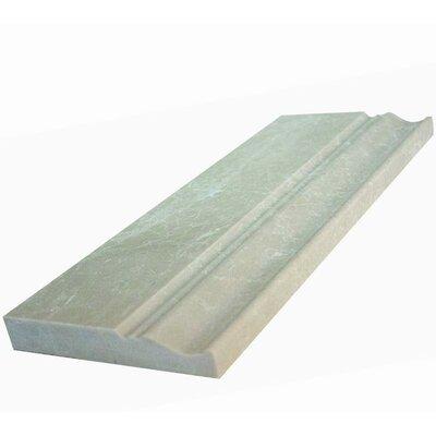 12 x 5 Counter Rail Tile Trim in Botticino