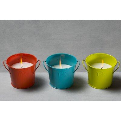 "Citronella Jar Candle Size: 4.8""H x 5.28""W x 5.28""D 141211768"