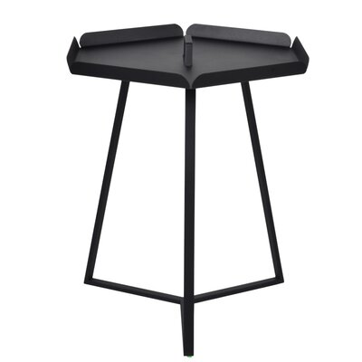 Versa End Table Color: Black