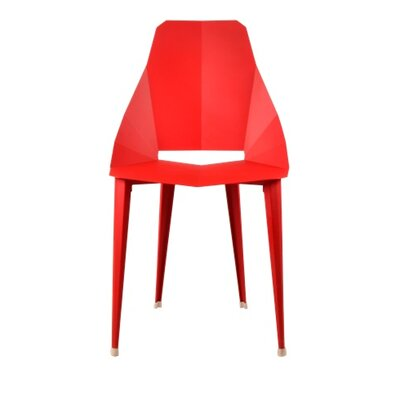 Luxor Side Chair Finish: Red