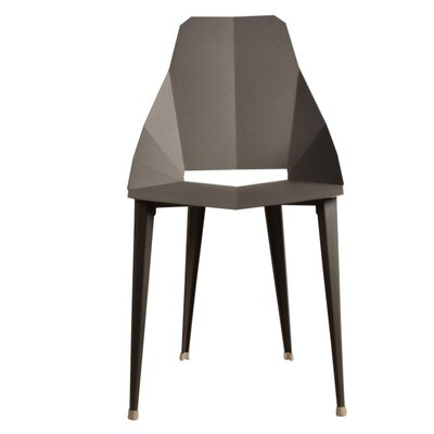Luxor Side Chair Finish: Dark Gray