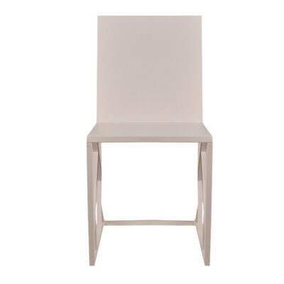 Penta Side Chair Finish: White