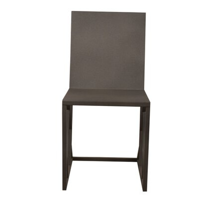 Penta Side Chair Finish: Dark Gray