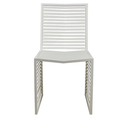 Vent Side Chair Finish: White