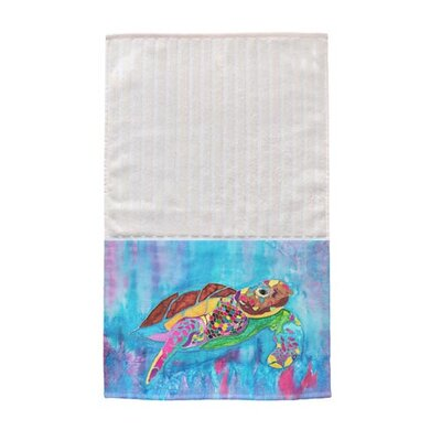 Turtle Time Multi Face Hand Towel