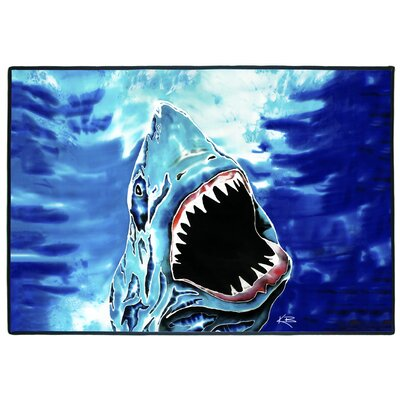 Shark Attack Indoor/Outdoor Floor Mat
