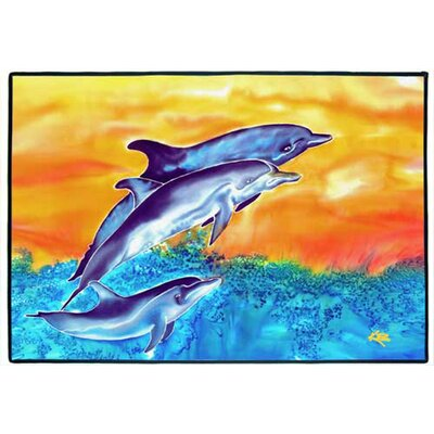 Dolphins Indoor/Outdoor Floor Mat