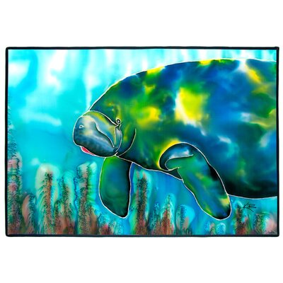 Mo the Manatee Indoor/Outdoor Floor Mat