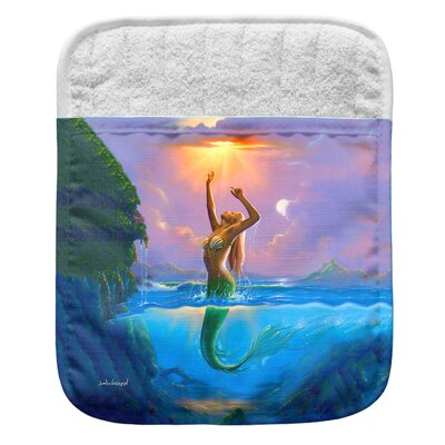 Mermaid Pocket Mitt Potholder 006-JW012