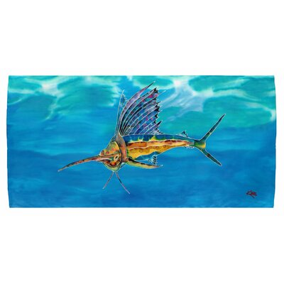 Sailfish Beach Towel
