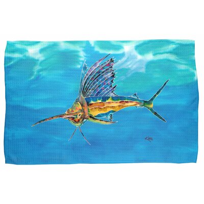 Sailfish Waffle Weave Hand Towel