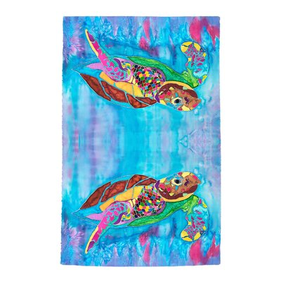 Turtle Time Beach Towel