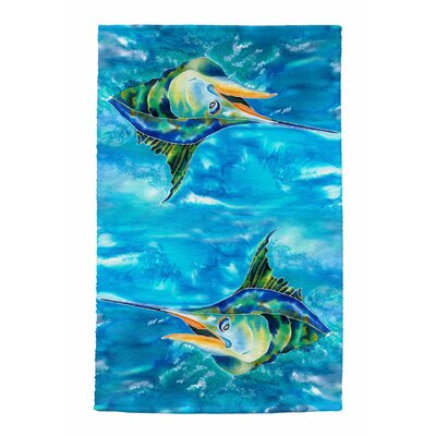 Splash the Marlin Full Face Hand Towel
