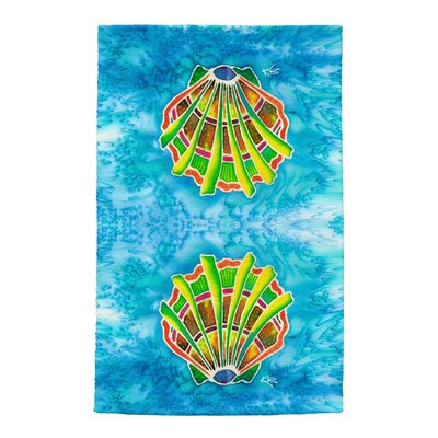 Shell Full Face Hand Towel