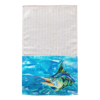 Splash the Marlin Multi Face Hand Towel