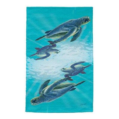 Sea Turtles Full Face Hand Towel