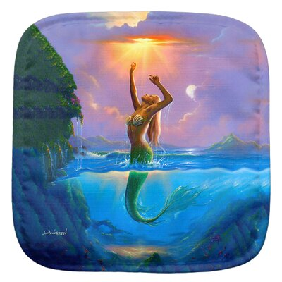 Mermaid Potholder 005-JW012