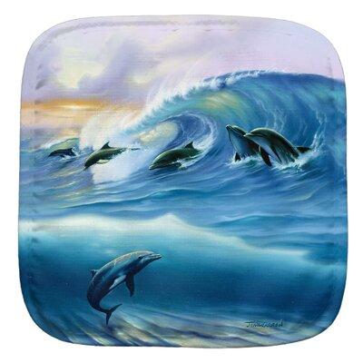Surfing Dolphins Potholder 005-JW004