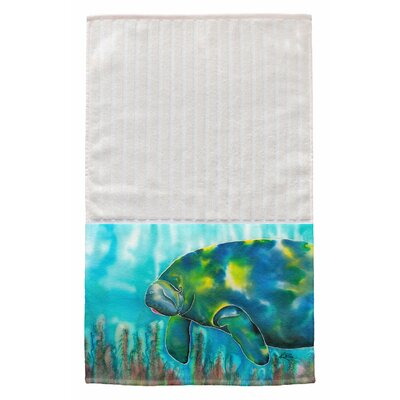 Mo the Manatee Multi Face Hand Towel