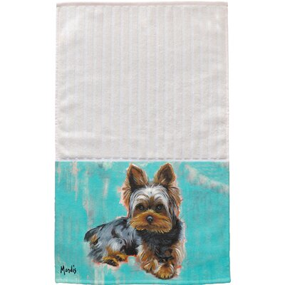 Yorkie Multi Face Hand Towel