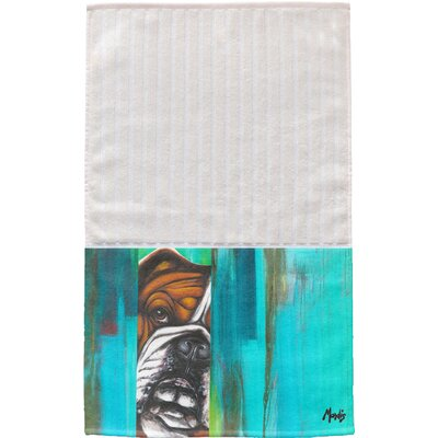 Bulldog Multi Face Hand Towel