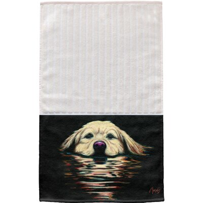 Golden Retriever Multi Face Hand Towel