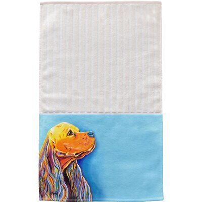 Cocker Spaniel Multi Face Hand Towel
