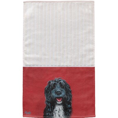 Portuguese Water Dog Multi Face Hand Towel