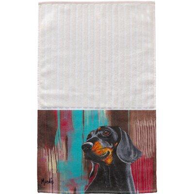 Dachshund Multi Face Hand Towel