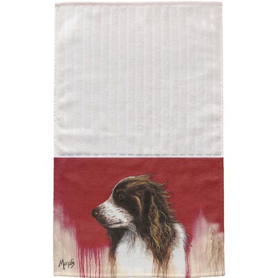 Brittany Spaniel Multi Face Hand Towel