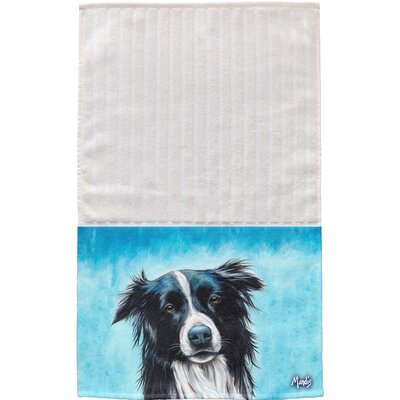 Border Collie Multi Face Hand Towel
