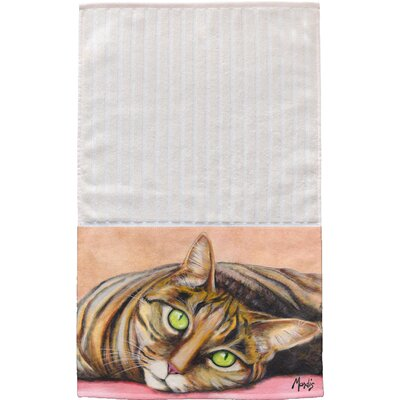 Cat Multi Face Hand Towel
