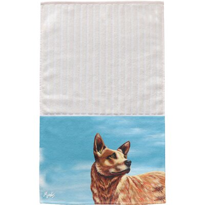 Texas Cattle Dog Multi Face Hand Towel