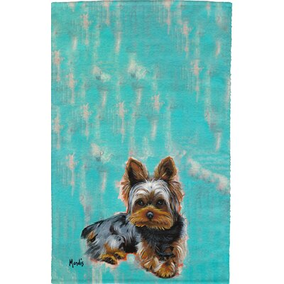 Yorkie Full Face Hand Towel
