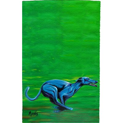 Greyhound Full Face Hand Towel