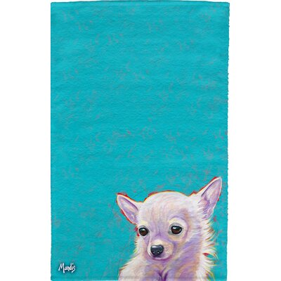 Chihuahua Full Face Hand Towel