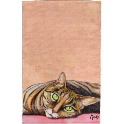 Cat Full Face Hand Towel