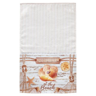 Shells Multi Face Hand Towel
