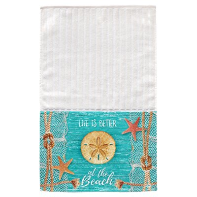 Crestview Sand Dollar Multi Face Hand Towel