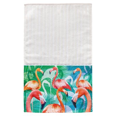 Daytona Flamingos Multi Face Hand Towel