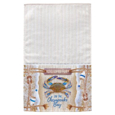 Raedel Chesapeake Crab Bouy Multi Face Hand Towel