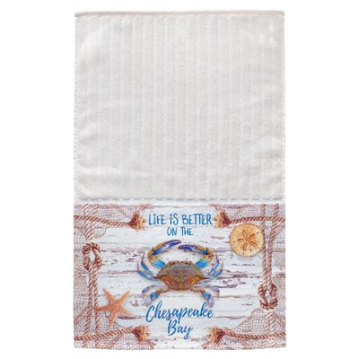 Meggan Chesapeake Crab Net Multi Face Hand Towel