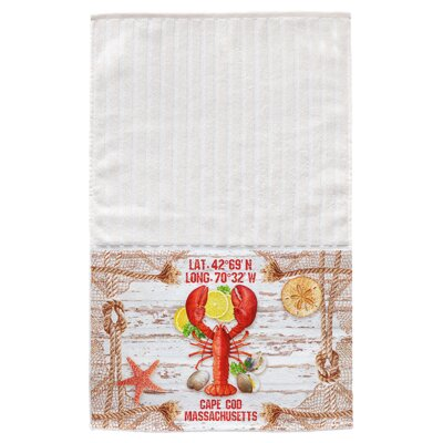 Cadence Lobster Multi Face Hand Towel