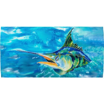 Splash the Marlin Beach Towel