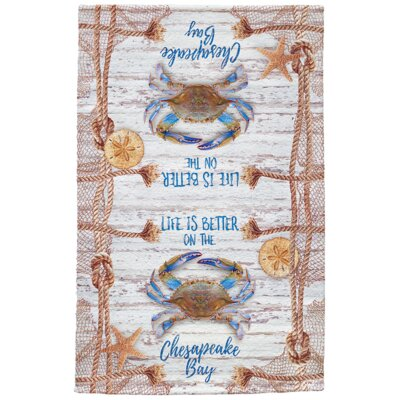 Paulo Chesapeake Crab Net Full Face Hand Towel