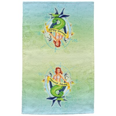Mermaid Full Face Hand Towel