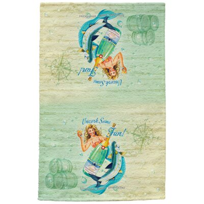 Uncork Some Fun Full Face Hand Towel