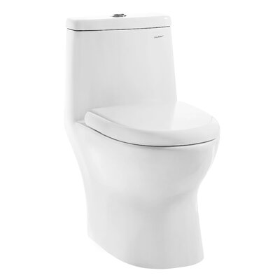 Ivy� Dual Flush Elongated One-Piece Toilet
