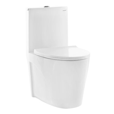 St. Tropez� Dual Flush Elongated One-Piece Toilet
